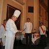 Chef Julien Blaya intronisé Disciple d'Escoffier